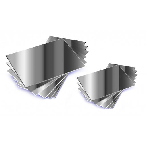 Double Sided Mirrors 90 x 65mm - Pk10