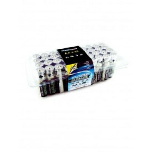 AA ULTRA MAX ALKALINE BATTERY PK40