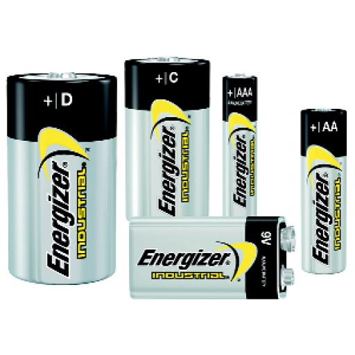 D TYPE ENERGIZER INDUSTRIAL BATTERY PK12