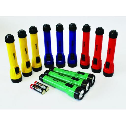 LED Handy Torches - Pk12
