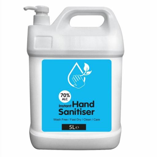Alcohol Based Hand Sanitiser 5Lt Refill 70%