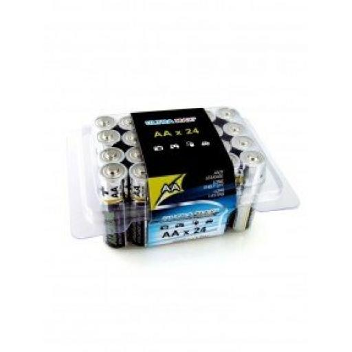 AA ULTRA MAX ALKALINE BATTERY PK24