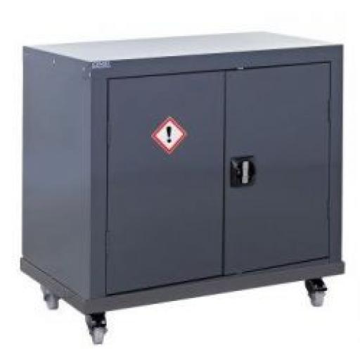 Mobile COSHH Cabinet 1219x915x457