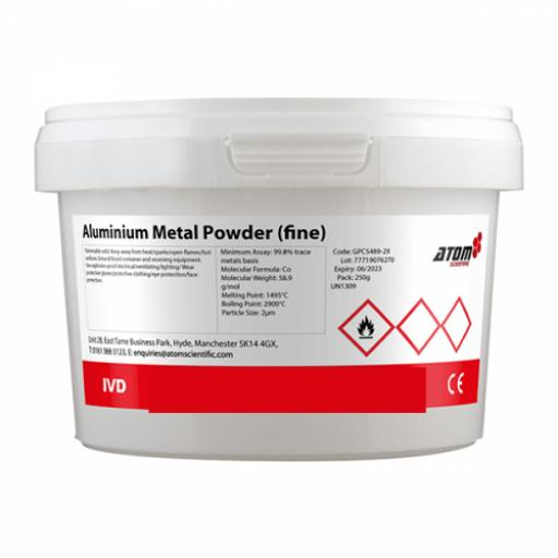 Aluminium Metal Powder (fine) 250g