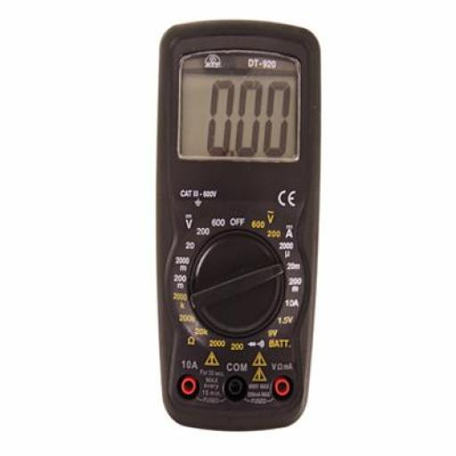 Manual Ranging Multimeter, 2000 count