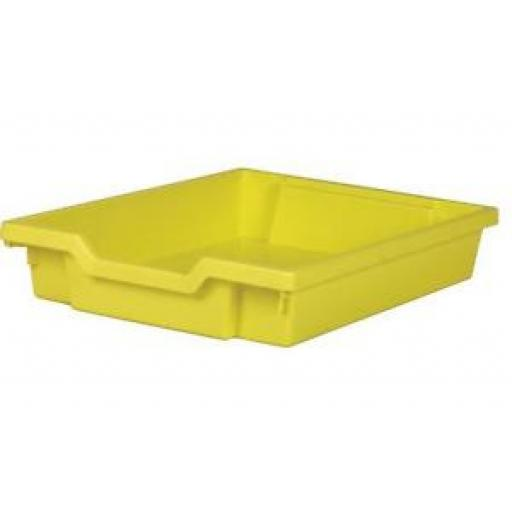 GRATNELLS SHALLOW TRAY YELLOW