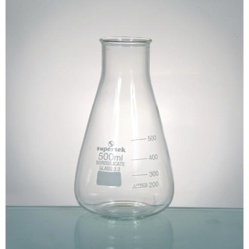 CONICAL FLASK WIDE NECK 1000ML