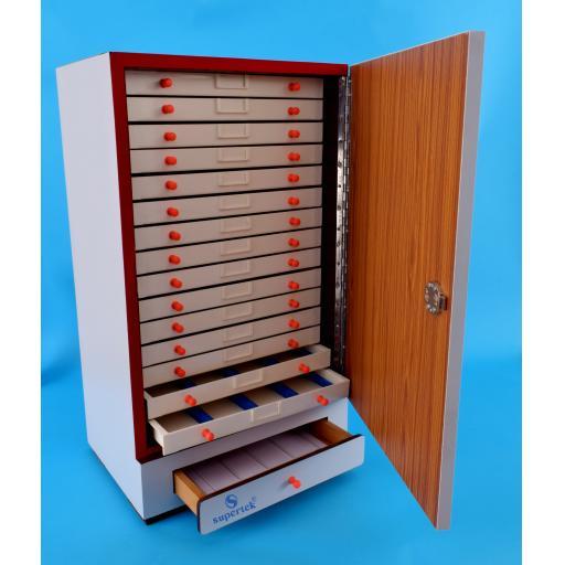 SLIDE CABINET 3000 slides in 15 drawers of 200 each