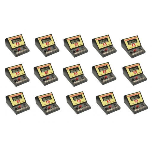 Digital Ammeter Class Set of 15