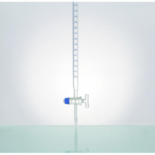 Burette, With Straight Bore, Glass Stopcock, Class A