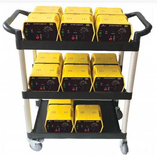 BATTERY ELIMINATOR CLASS SET OF 15 WITH A FREE TROLLEY