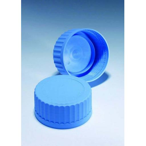 Spare blue top for 2070 lab bottle