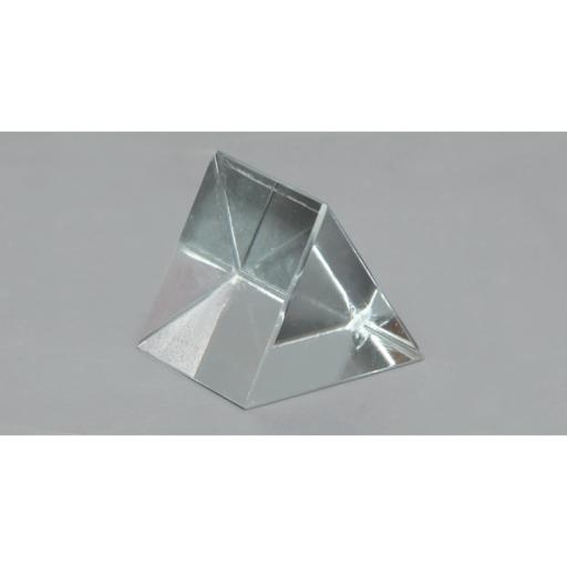Prism glass equilateral, 50mm