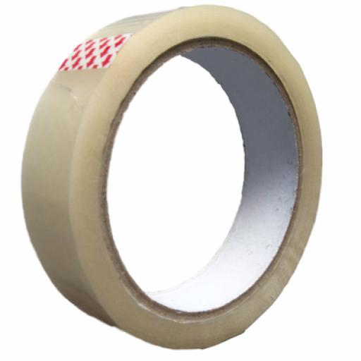 Clear Adhesive Tape 24mm x 66m