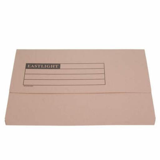 Document Wallet A4 Pk50 buff