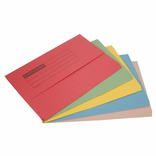 Document Wallet A4 Pk50 assorted colours